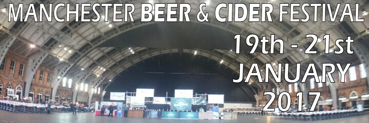 Manchester Beer & Cider Festival 2017