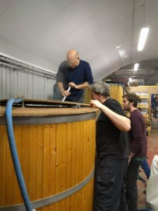 Chorllton Homebrewers - mash in