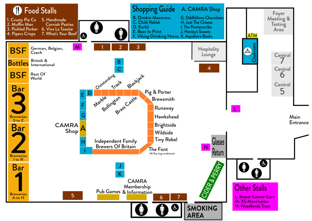 Floor plan 2017 manchester beer cider festival for Floor plan websites
